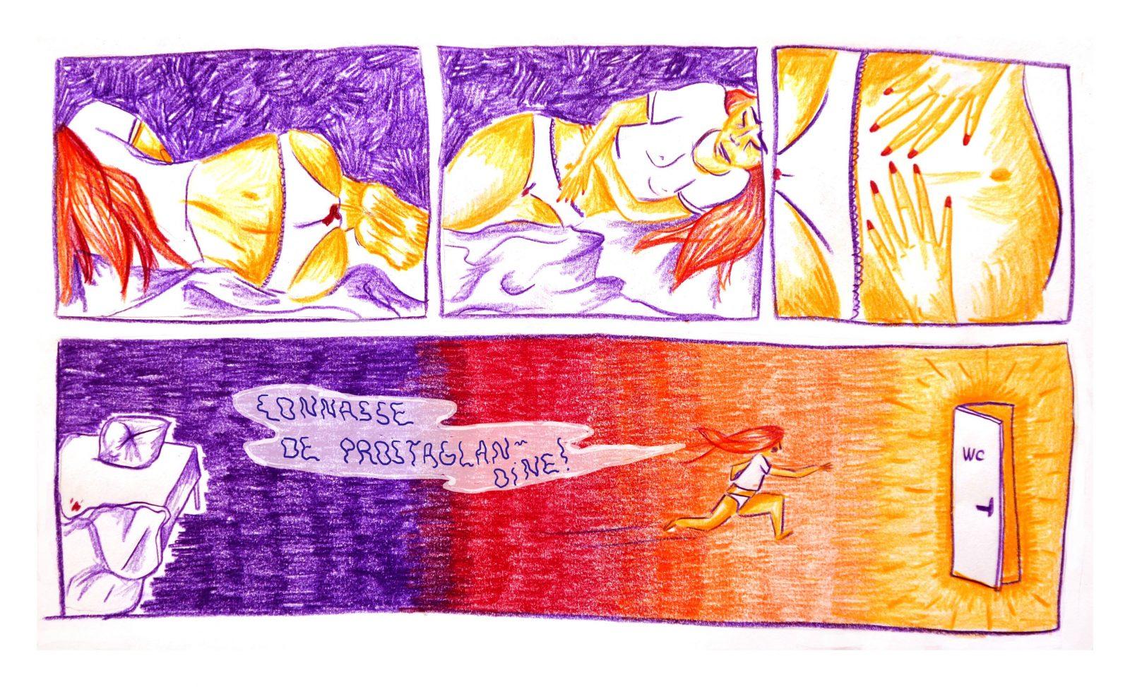 La Prostaglandine : cette b*tch ! - CYCLIQUE